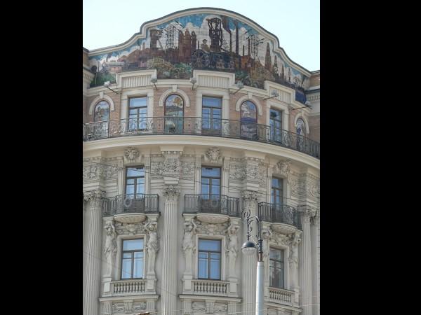 Architecture Art Nouveau : l'hotel National