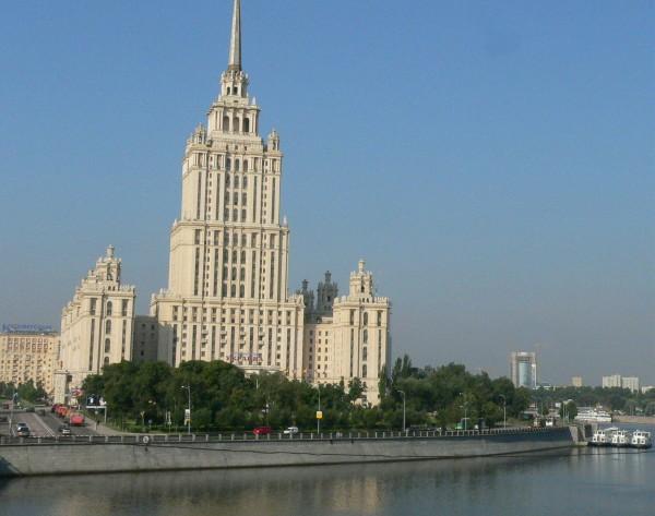 L'hotel Ukraina - gratte-ciel stalinien des années 30